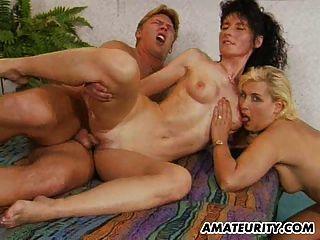 Amador milf ação anal com ejaculação facial