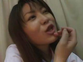 Asiático próstata massagem humilhação 1