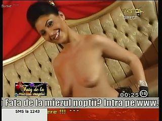 Anne romanian impressionante da menina que dança despida na tevê!