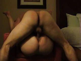 Fodendo uma mulher gorda do burro