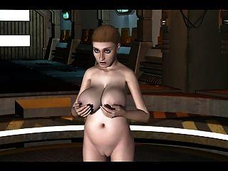Animação 3d: alien 2