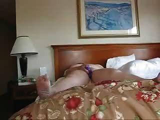 Negócio, mulher, sozinha, hotel