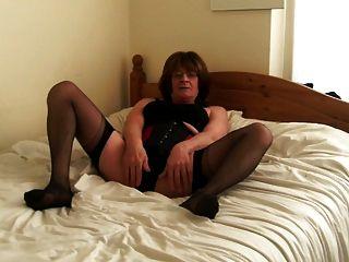 Jenny smith corset e meias transsexual