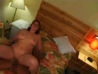 Gorda gorda gorda ex gf montando galo e ficando cum sobre mamas