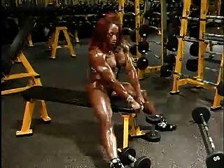 Garotas incríveis com músculos