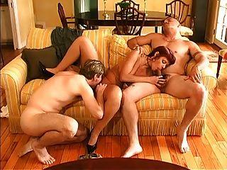 Nice bi 3some ação mmf