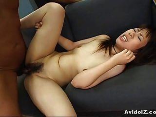 Galo montando asiático impressionante e amarrado então acima como um cão!