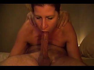 Esposa dá uma blowthom deepthroat incrível