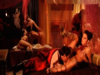 Cena da orgia romana com dp