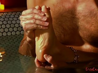 Massagem erótica dos pés