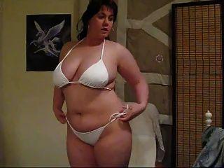 Bbw quente mostrando seu corpo
