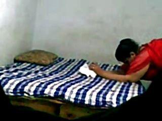 Maduro casal indiano sexo caseiro
