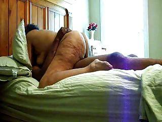 Avó gorda que monta no coock preto