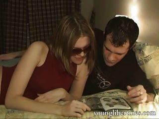 Masha concordou em ser filmada fazendo sexo