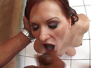 Katja kassin engole 5 cargas de spunk
