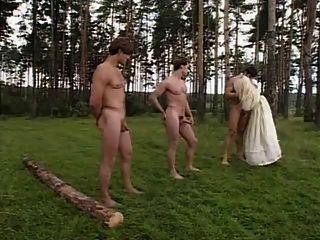 Longo, unhas, boquete, floresta