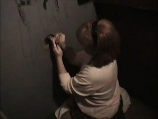 Mamã do futebol no gloryhole