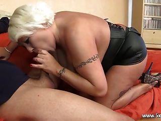 Joyce a bbw francês maduro que adora anal