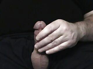Jerking fora meu pênis cock cox pequeno bom tiro cum tão divertido