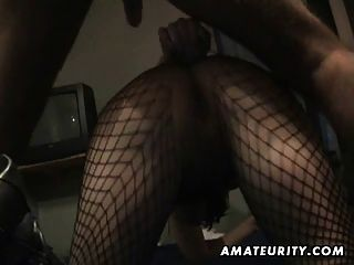 Amador caseiro anal com cum na boca