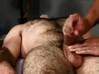 Massagem corporal frente com massagem genital