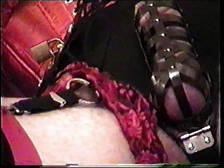 Little miss christi em castidade com dez unidades plug