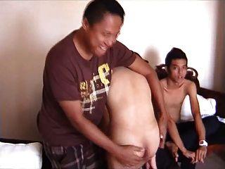 Quatro indonésios bareback 1. parte