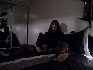 Primeiro vídeo na cama
