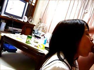 Asiático japanese facial cumshot amador daiki \u0026 mika