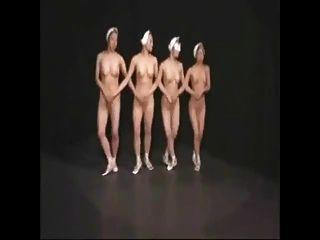 Dançarinos de balé nu 1