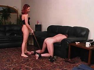 Uma senhora e seu escravo