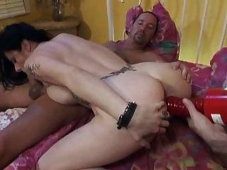 Usando a vagabunda anal