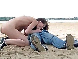 Sexo da praia parte uma