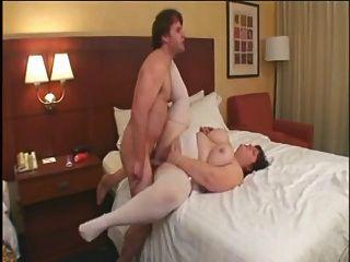 Quente fuck # 115 (busty big butt maduro ssbbw na cama do hotel)