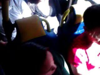 Toque em ônibus
