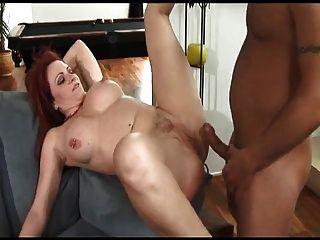Hot redhead anal milf