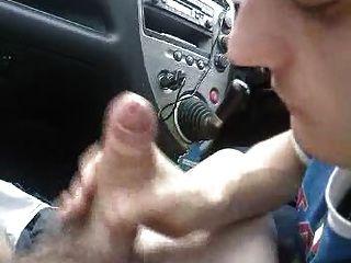 Suce en voiture
