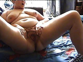 Minha vovó da amiga da webcam da avó faz-me prazer 2 da manhã