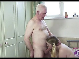 Hot old man n nova cadela