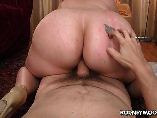 Blonde bbw tiffany blake grandes gordas tits pov