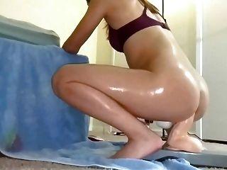 Passeios asiáticos kinky enorme dildo anal!Pt2 (gzh)