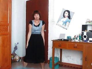 Dança da mulher chinesa velha