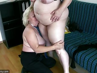 Oldnanny sexy gorducha madura e bbw avó