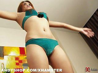 Garota tailandesa sexercise