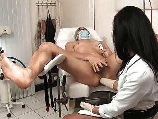 Exame profundo da próstata