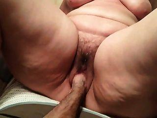 Bbw dupla fist gaping pussy peludo