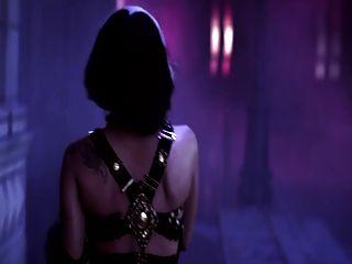 Senhora gaga a borda da glória (vídeo da pornografia do herói)