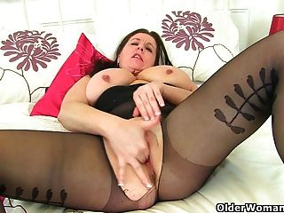 É calças justas pretas e nenhum dia das calcinhas para uk mum jessica