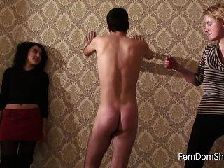 Extrema pá no goof escravos burro spanking femdom