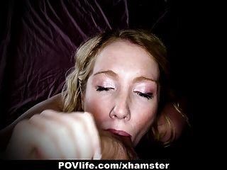 Povlife horny loira fica fodido na bunda na câmera!